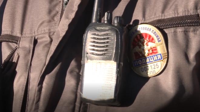 На Мытнинской на сотрудницу полиции рухнул 60-сантиметровый кусок штукатурки