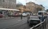 Из-за массового ДТП в Автово проспект Стачек глухо стоит в сторону центра