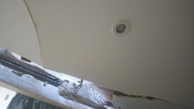 В центре Петербурга обрушилась крыша жилого дома
