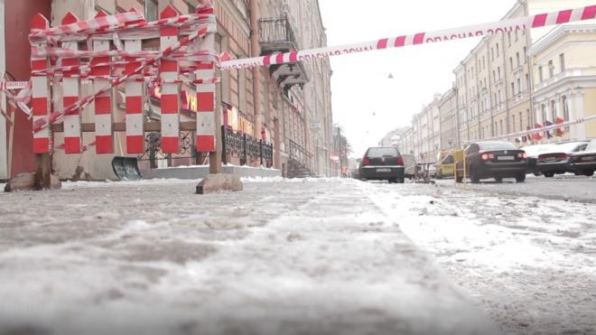 Ночью на улице Рихарда Зорге прорвало трубу с горячей водой