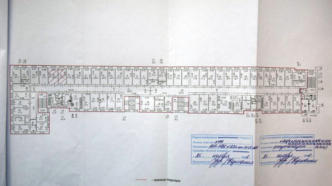 В Петербурге найдена квартира из 58 комнат