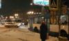 Затор из троллейбусов собрался на проспекте Славы из-за обрыва проводов