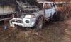 Фотофакт: на платной парковке на Кондратьевском сгорели автомобили