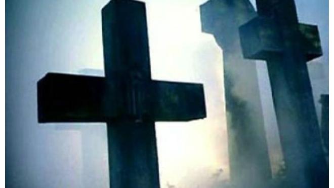 В Новосибирске вандалы устроили погром на кладбище немецких военнопленных