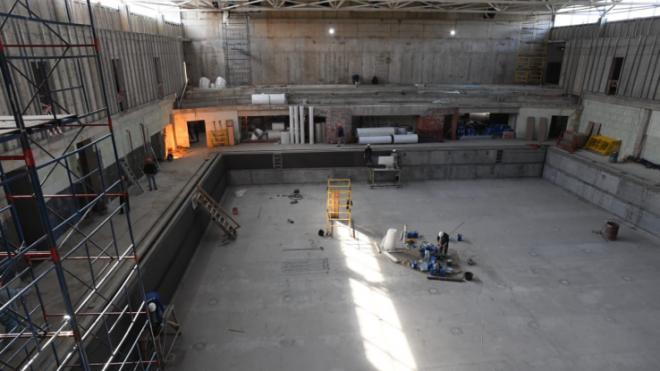 Новый бассейн в Гатчине откроют в конце года