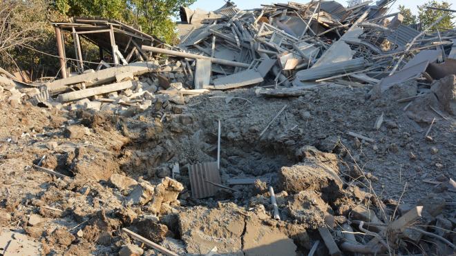 В Степанакерте два человека получили ранения при ракетном ударе