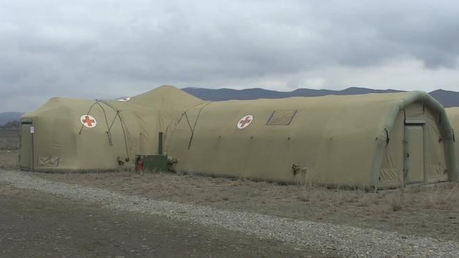 Российских миротворцев в Карабахе начали прививать от коронавируса