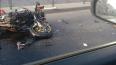 На Заневском проспекте в Петербурге мотоциклист врезался ...