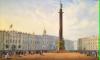 Ангела Александровской колонны моют спустя 17 лет