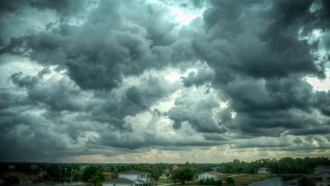 В понедельник в Ленобласти ожидается теплая и дождливая погода