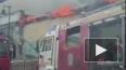 В Москве на Пречистенке загорелось историческое здание
