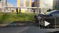 На Маршала Блюхера столкнулись такси и Mitsubishi Lancer