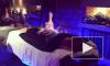 Анастасия Волочкова горела синем пламенем в салоне красоты