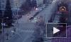 """Видео из Красноярска: Автоледи пронеслась на """"красный"""" и стала причиной тройной аварии"""