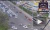 Жесткое видео из Красноярска: Молодой водитель догнал бегом и нокаутировал 60-летнего нарушителя и виновника ДТП