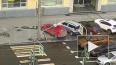 В Петроградском районе на автомобиль рухнул дорожный ...