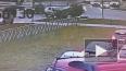 Видео: на проспекте Королева во время ДТП Nissan перевер...