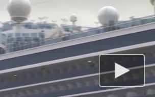 С круизного лайнера Diamond Princess началась эвакуация