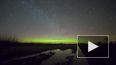 Ночью в Ленобласти наблюдали северное сияние