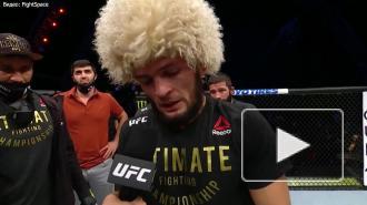 Нурмагомедов одержал победу в главном бою турнира UFC 254 и завершил карьеру