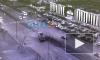 На Косыгина грузовик, пробив ограждение, вылетел на встречку