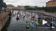 У Марсова поля стартовал международный фестиваль сапсёрф...
