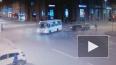 Момент лобового столкновения на площади Ленина попал ...