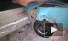 Красноярск: Уходя от погони на угнанном авто подростки протаранили три иномарки, бросили машину и скрылись