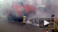 По Новокузнецку ездил горящий мусоровоз