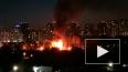 Ночью на Центральной улице Мурино горел частный дом