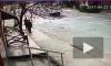 Камера видео наблюдения сняла ужасную авария в Махачкале