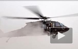 """Над Ираком вблизи границы с Сирией разбился вертолет ВМС США """"Черный ястреб"""""""