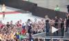 Мадонна в Киеве разозлила зрителей, перепутав флаги России и Украины