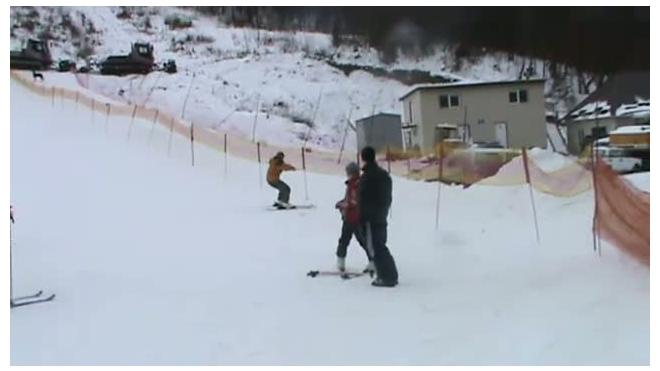 Первый горнолыжный опыт