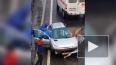 На Таллинском человека зажало в машине: медики ставили ...
