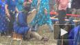 Шаманы на Байкале принесли в жертву барана для прекращения ...