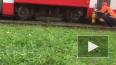 В Петербурге трамвай сошел с рельсов
