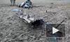 Появилось видео с места крушения вертолета МИ-2 Министерства обороны Украины