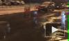 На Турку вода из лопнувшей трубы заливает припаркованные машины