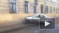 Иномарка влетела в стену жилого дома на Балтийской улице