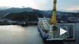"""Трубоукладчик """"Газпрома"""" пришвартовался в Германии ..."""