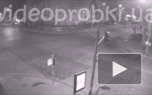 Ночное ДТП Киев.