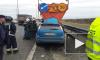 На КАД легковушка врезалась в грузовик: погиб человек