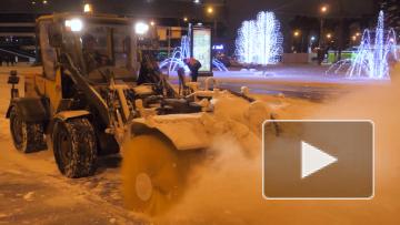 Из-за снегопада в Петербурге ввели режим повышенной ...