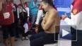 Появилось видео бритья тренера фехтовальщиков