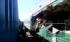 Крушение поезда в Подмосковье: видео с места трагедии шокирует, шесть человек погибли, 45 - в больнице