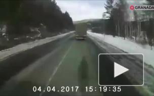 Страшная авария.