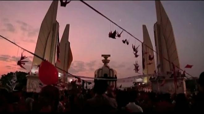 Протесты «краснорубашечников» в Тайланде