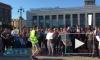 Видео: петербуржцы вышли на согласованный митинг против мусорной свалки в Шиесе