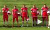 На чемпионате по американскому футболу отключили гимн России: спортсмены допели без звука